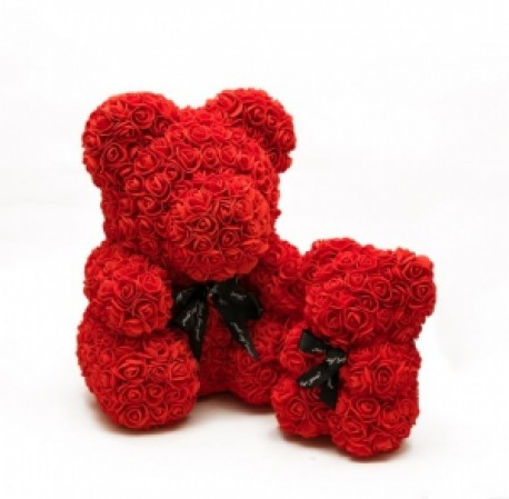 Rose Teddy Bear (ADD ON ITEM ONLY)